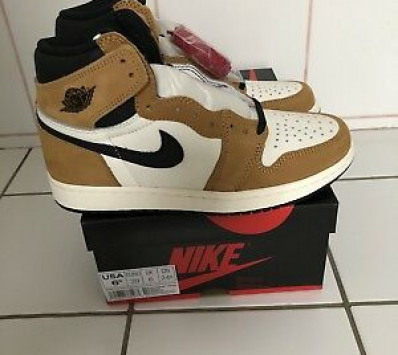 premium selection 5806a fa577 Nike Air Jordan 1 Retro High OG 6,5US 39EU Golden Harvest Rookie Of The